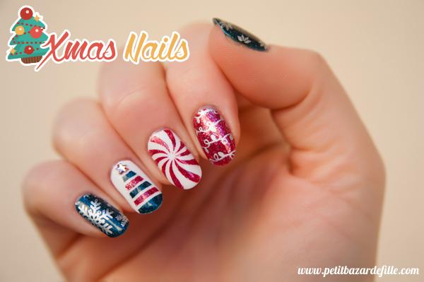 [Nailart] Xmas Nails 2