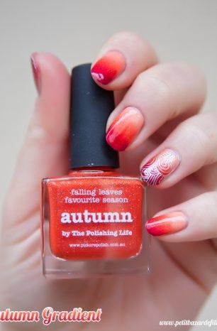 [Nailart] Autumn Gradient