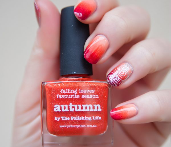 [Nailart] Autumn Gradient