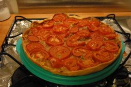 [Recette] Tarte au thon & tomate