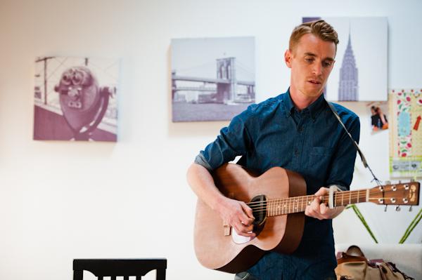 Ben Mazué - mini concert dans mon salon à Lyon